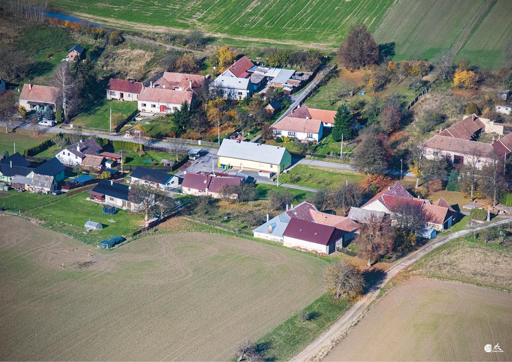 Letecké snímky podzim 2020